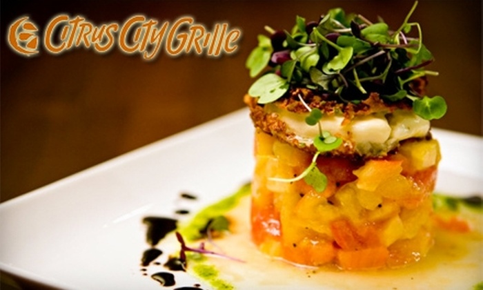 Citrus City Grille - Inland Empire: $20 for $40 Worth of Upscale Cuisine at Citrus City Grille