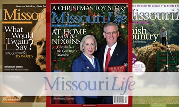 Missouri Life Magazine - Kansas City: $8 for a One-Year Subscription to Missouri Life Magazine ($19.99 Value)