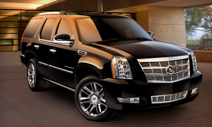 AZ Sedans & Limousine Service - Camelback East: $65 for Three-Hour Luxury SUV Service for Up to Six from AZ Sedans & Limousine Service ($290.03 Value)