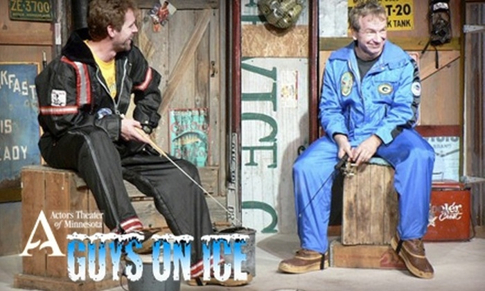 """Actors Theater of Minnesota - Northwestern Precinct: $12 for One Ticket to Actors Theater of Minnesota's Production of """"Guys on Ice"""" in St. Paul ($24 Value). Thirteen Performances Available."""