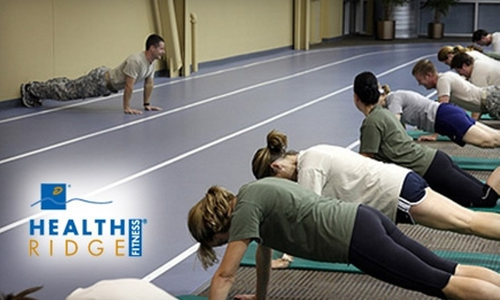 HealthRidge Fitness - Corporate Ridge: $49 for Membership, Boot Camp, and a Personal-Training session at HealthRidge Fitness in Olathe ($247 Value)