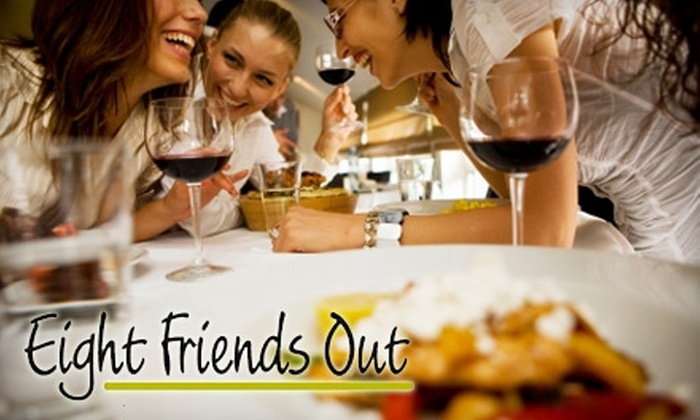 Eight Friends Out: $20 for a Two-Month Membership to Eight Friends Out Singles Club ($59.90 Value)