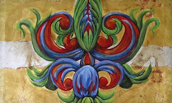 Fleur de ME Designs - Airline/Jefferson: $20 for a Three-Hour Painting Class at Fleur de ME Designs ($45 Value)