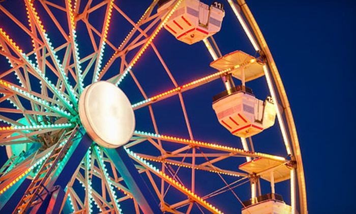 Suncoast Fair - Bayou Oaks: $30 for Suncoast Fair Entry with Unlimited Rides for Two in Sarasota (Up to $64 Value)