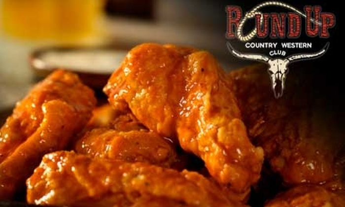 Round Up Country Western Club - Pine Island Ridge: $20 for $40 Worth of Classic American Comfort Food and Drink at Round Up Country Western Club