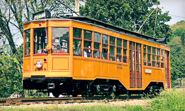 Pennsylvania Trolley Museum - Arden: Museum Excursion for Two, Four, or Six to the Pennsylvania Trolley Museum in Washington (Up to 63% Off)