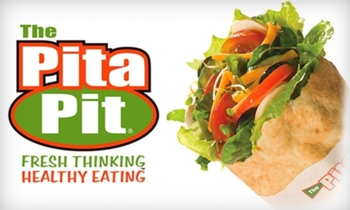 Pita Pit - Downtown Indianapolis: $5 for $10 Worth of Stuffed Pitas and Drinks at Pita Pit