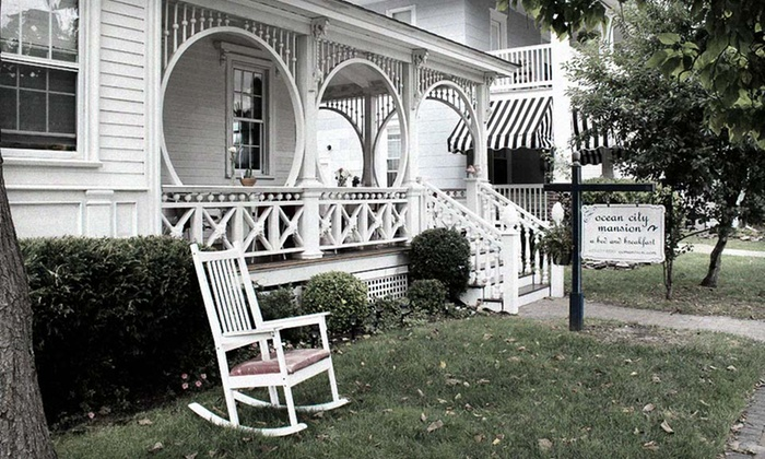 Ocean City Mansion Bed & Breakfast - Ocean City: One- or Two-Night Stay and Breakfast for Two at Ocean City Mansion in New Jersey