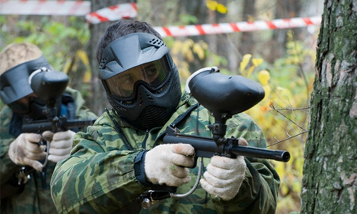 Paintball Kingdom - Marshville: All-Day Paintball Adventure for One or Four at Paintball Kingdom in Marshville