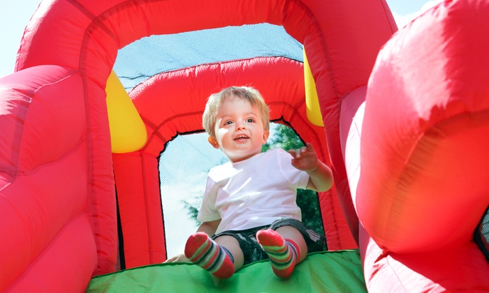 That Bounce Place - Multiple Locations: 5 or 10 Groupons, Each Good for a Two-Hour Bounce-House Visit to That Bounce Place (Up to 50% Off)