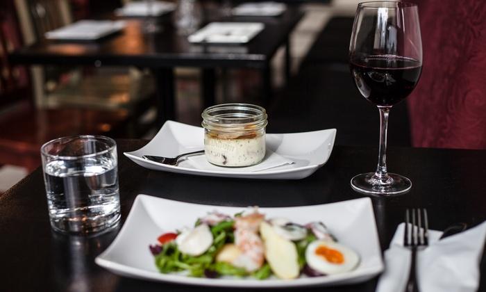 Burgundy Restaurant - Vancouver: C$40  for Gourmet Dinner for Two at Burgundy Restaurant (Up to C$80  Value)