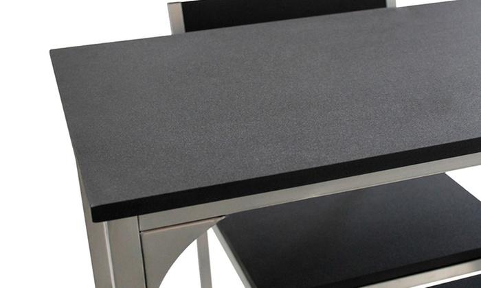 Set di tavoli da bar e sgabelli groupon goods