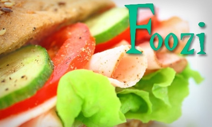 Foozi - Memphis: $10 for $20 Worth of Pizzas, Baked Subs, and More at Foozi