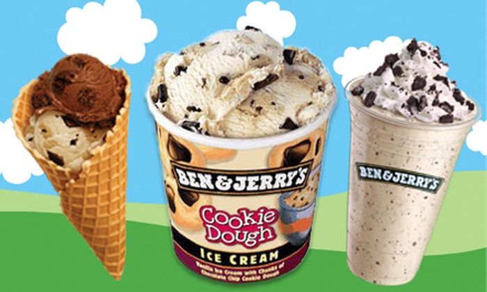 Ben & Jerry's - Downtown Palm Springs: $5 for $10 Worth of Frozen Treats at Ben & Jerry's Scoop Shop in Palm Springs