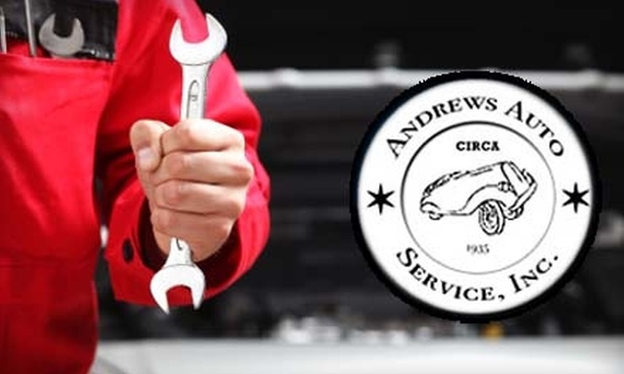 Andrews Auto Service - East Central City: $29 for Full-Service Oil Change, Maintenance Check, Tire Rotation, and Brake Inspection at Andrews Auto Service