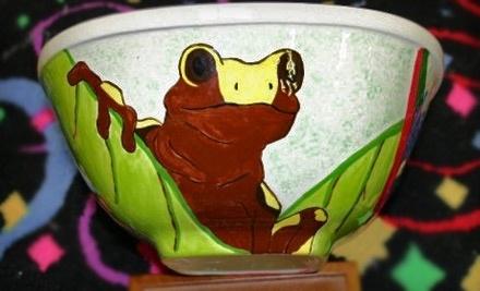 $25 Groupon to Meg-Art Pottery, Inc. - Meg-Art Pottery, Inc. in Huntersville