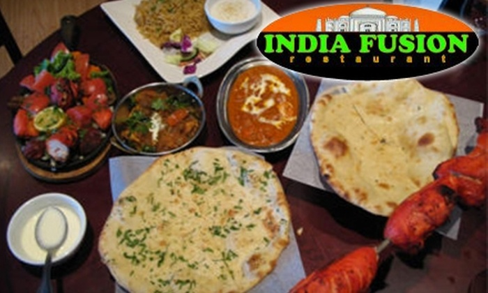 India Fusion Restaurant - West Jordan: $10 for $21 Worth of Indian Fusion Fare and Drink