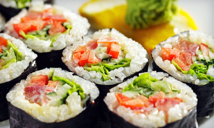 Sushi House - Lawrence: Sushi Meal with Starters and Drinks for Two at Sushi House (Up to 51% Off). Two Options Available.
