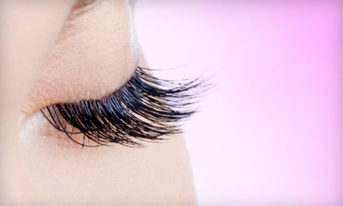 Mixt Cosmetics - Las Vegas: Set of Partial Eyelash Extensions or Full Traditional Synthetic Eyelash Extensions at Mixt Cosmetics (Up to 66% Off)