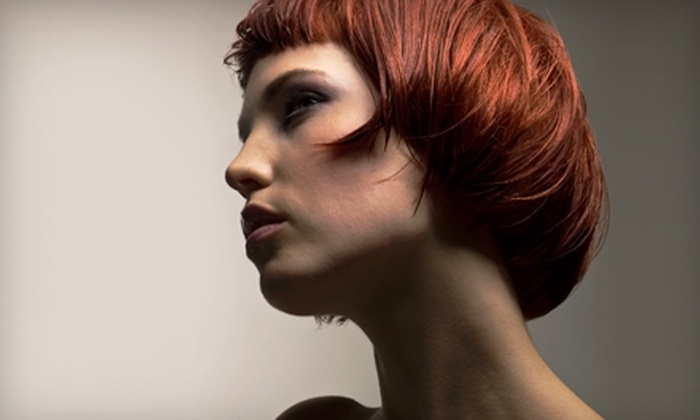 Michael Anthony Hair & Tanning Salon - South Central: Salon Services at Michael Anthony Hair & Tanning Salon. Three Options Available.