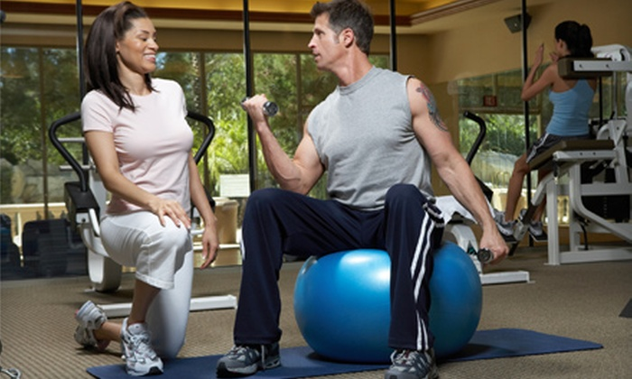 Meridian's Bodies in Motion - Multiple Locations: One 30-Day All-Club Sports-Club Pass or Three Personal-Training Sessions at Meridian's Bodies In Motion