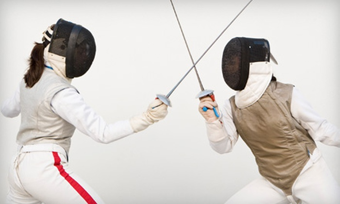 Syracuse Musketeers Fencing Center - De Witt: One, Three, or Six Fencing Classes or Month of Unlimited Classes at Syracuse Musketeers Fencing Center (Up to 71% Off)