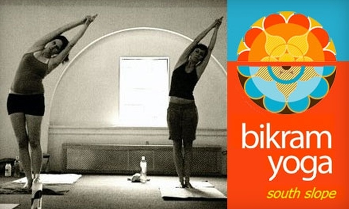 Bikram Yoga Park Slope - Multiple Locations: $49 for 30 Days of Yoga at Bikram Yoga Park Slope (Up to $175 Value)