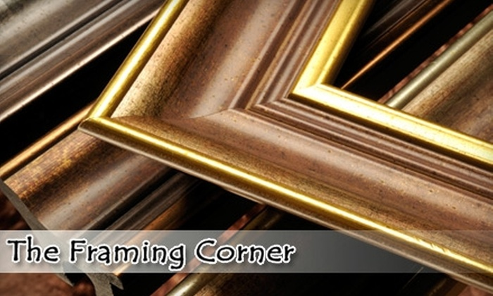 The Framing Corner - Mission Viejo: $39 for $100 Toward Custom Framing at The Framing Corner in Mission Viejo