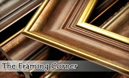 $100 Groupon to The Framing Corner - The Framing Corner in Mission Viejo