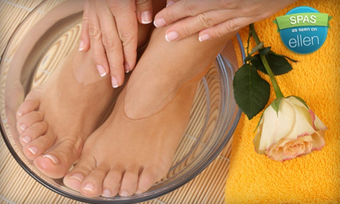 The Soft Touch Nail Salon - Sierra Madre: $22 for Mani-Pedi at The Soft Touch Nail Salon in Sierra Madre ($44 Value)