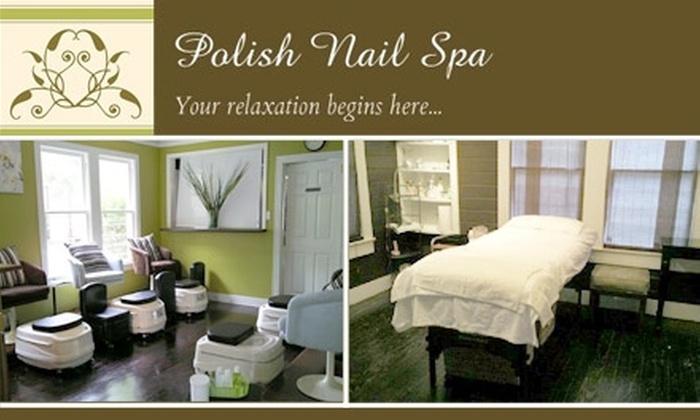 Polish Nail Spa - Rosedale: $40 for Essential Mani and Ultimate Pedi at Polish Nail Spa