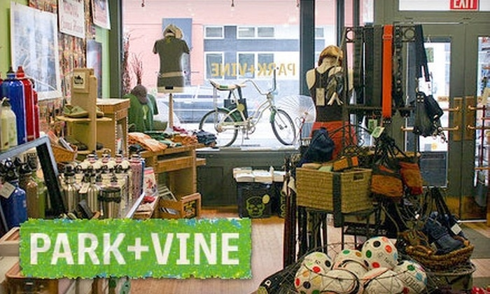 Park + Vine - Over-The Rhine: $15 for $35 Worth of Eco-Friendly Goods at Park + Vine