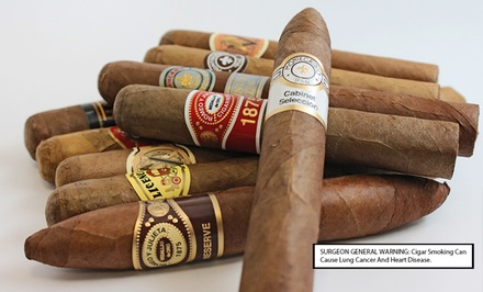 Summer Cigar Samplers from Mike's Cigars. Multiple Samplers from $19.99–$39.99.