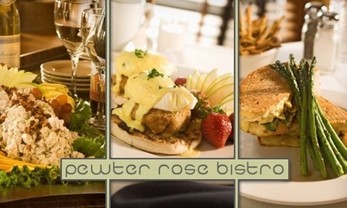 Pewter Rose Bistro - Dilworth: $25 for $50 Worth of International American Cuisine at Pewter Rose Bistro