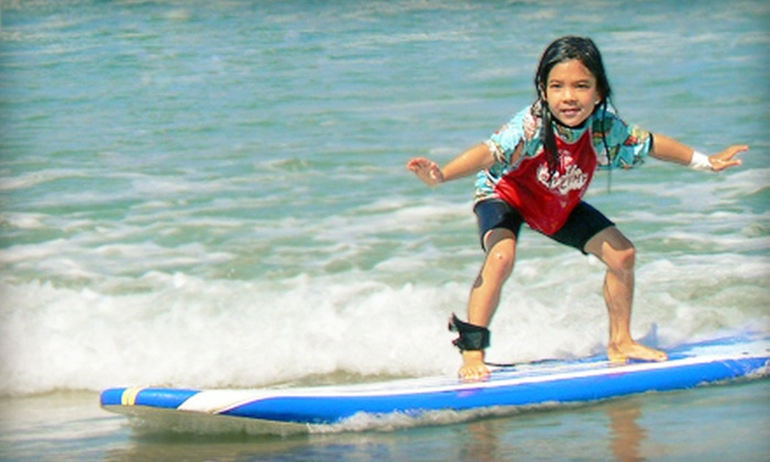 Surf Diva - La Jolla Shores: Half-Day or Full-Day Coed Youth Surf Camp at Surf Diva in La Jolla (Up to Half Off)