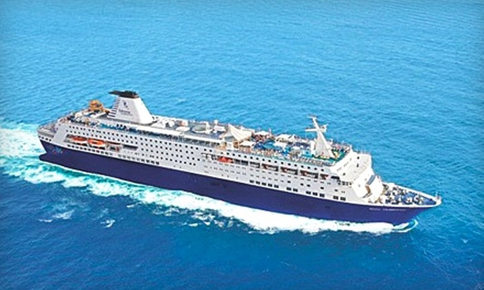 Celebration Cruise Line - Riviera Beach: $299 for Two-Night Cruise for Two Guests (Up to $689 Value) or $449 for Two-Night Cruise and Two-Night Stay in a Bahamas Resort for Two (Up to $804 Value) from Celebration Cruise Line