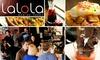 Lalola - Nob Hill: $10 for $20 Worth of Tapas and Drinks at Lalola Bar de Tapas