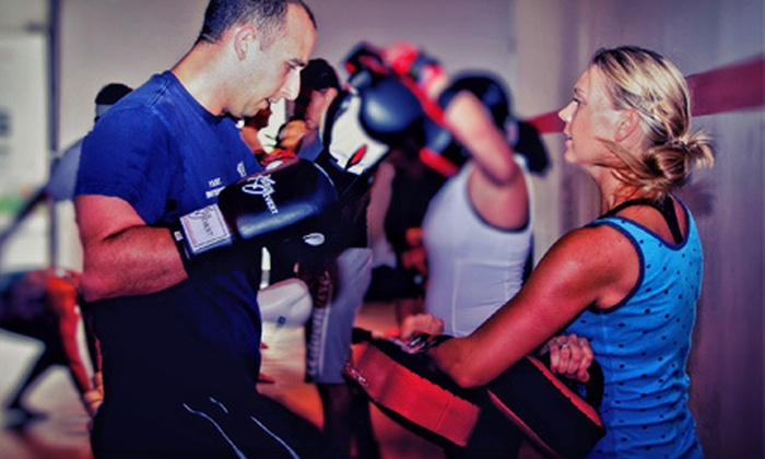 UMTBC Lifestyle Center - Hintonburg: 5 or 10 Muay Thai Kickboxing or Meditation Classes at UMTBC Lifestyle Center (Up to 76% Off)