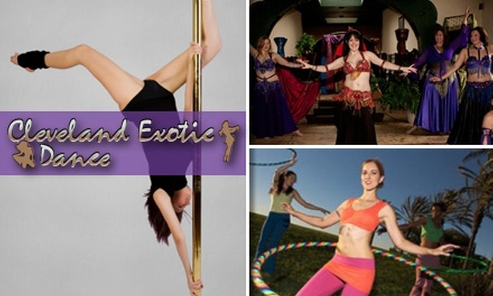 Cleveland Exotic Dance - West Boulevard: $10 for a Two-Hour Sampler Class at Cleveland Exotic Dance ($25 Value)