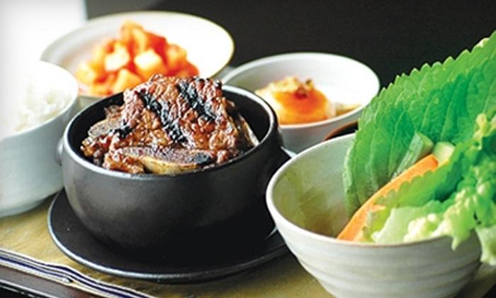Little Korea - La Jolla: $10 for $20 Worth of Korean Fare and Drinks at Little Korea in La Jolla