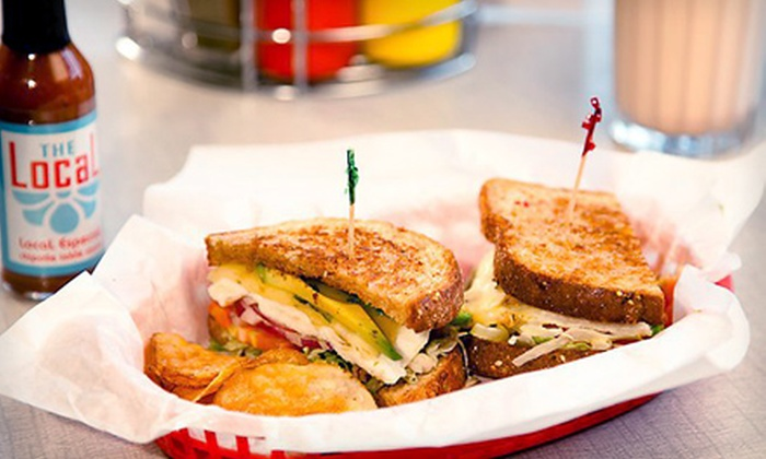 The Local - Washington Park: $20 for $40 Worth of Homemade Diner Fare at The Local