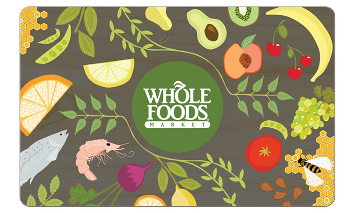 Whole Foods Market: $25 Voucher to Whole Foods Market + 10% Back in Groupon Bucks