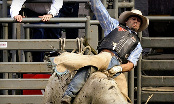 Puyallup Pro Rodeo - Puyallup: Tickets for Two to the Pro Rodeo, Including Fair Admission at the Puyallup Fair. Three Options Available.