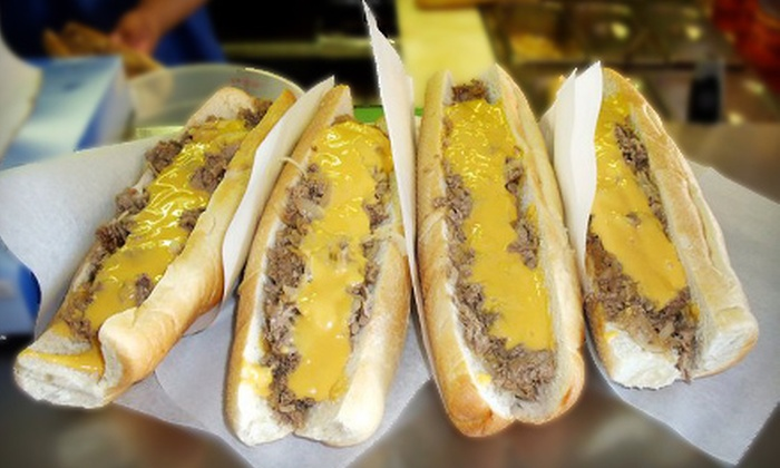 Philadelphia Sandwich Company - Downtown Scottsdale: Sandwich Dinner for Four or Cheesesteaks and Specialty Sandwiches at Philadelphia Sandwich Company in Scottsdale