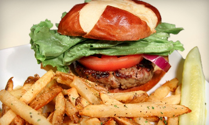 Redmond's Bar & Grill - Downtown Redmond: Burger Meal with Beers for Two or Four at Redmond's Bar & Grill (Up to 55% Off)