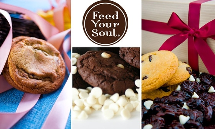Feed Your Soul Cookies - San Diego: $25 for Two Dozen Cookies Delivered to Your Door from Feed Your Soul ($45 Value)