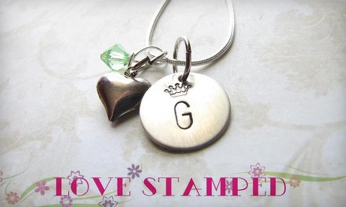 Love Stamped: $17 for $35 Worth of Personalized Jewelry from Love Stamped