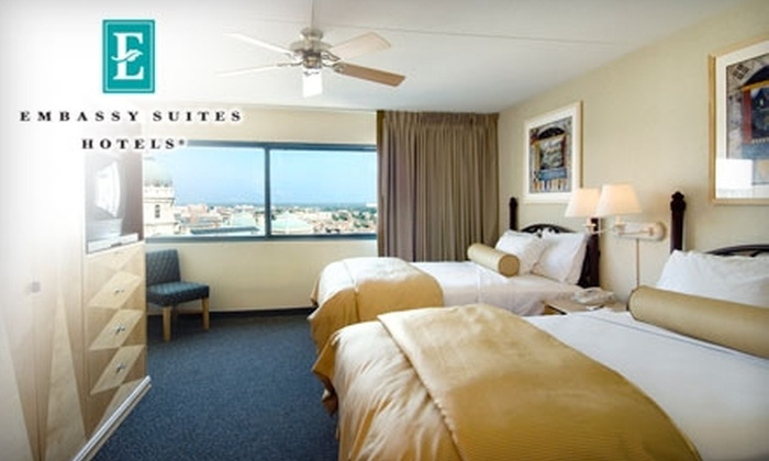 Embassy Suites Indianapolis – Downtown - Downtown Indianapolis: $80 for a One-Night Stay and Complimentary Breakfast at Embassy Suites Indianapolis – Downtown (Up to $169 Value)