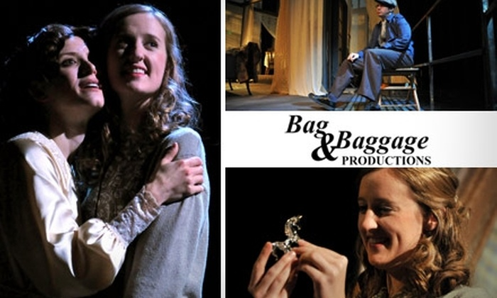 """Bag & Baggage - Hillsboro: $11 for One Ticket to """"The Glass Menagerie"""" from Bag & Baggage Productions (Up to $23 Value)"""