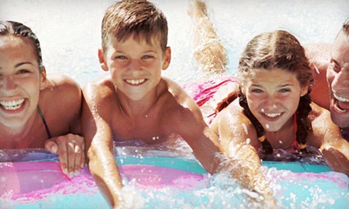 Surf and Swim - Audubon Park: Water-Park Outing for Two or Four to Surf and Swim in Garland (57% Off)